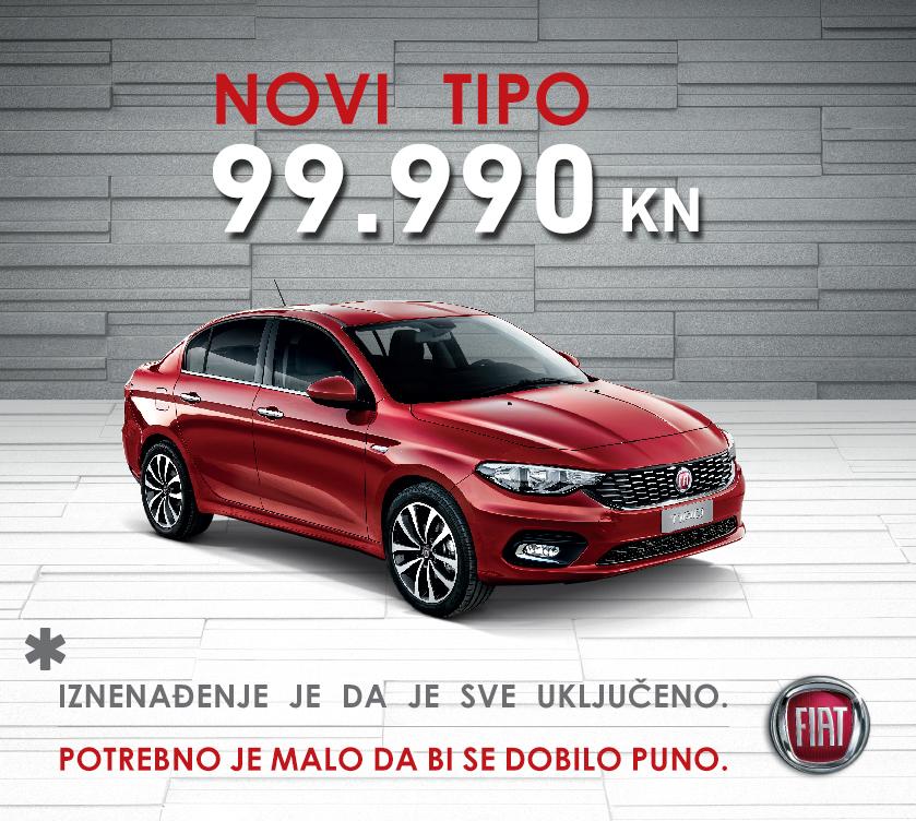 Fiat Tipo – potrebno je malo da bi se dobilo puno !