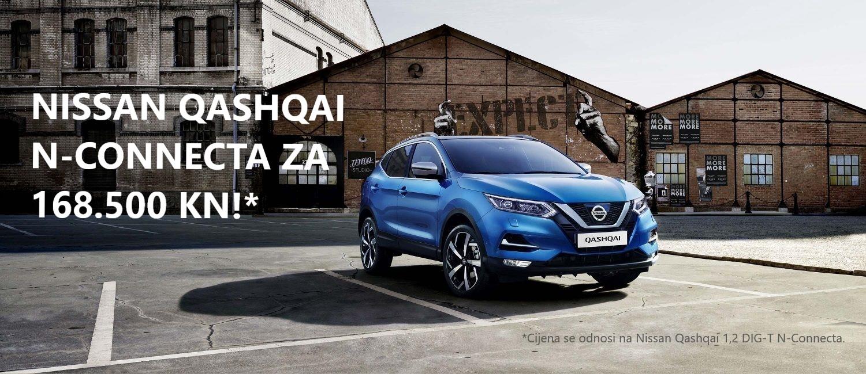 Novi Nissan Qashqai -provjeri odličnu ponudu!