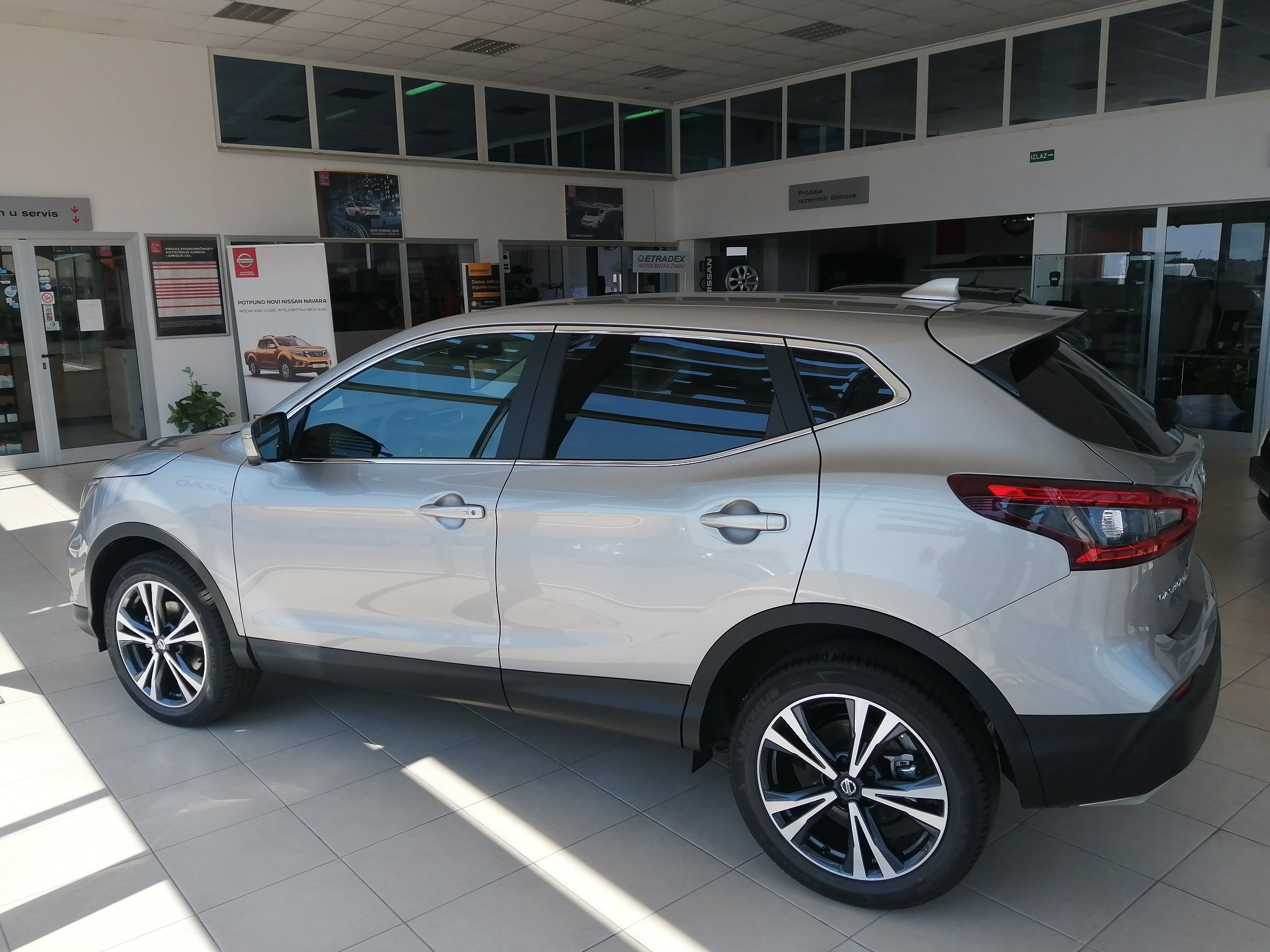 NOVI Nissan Qashqai 1,3 DIG   160 KS  N-CONNECTA + LED